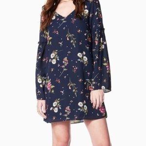 Charming Charlie Floral Shift Dress - S